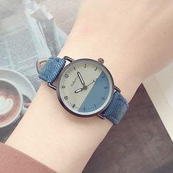 Moska - Two-Tone Strap Watch