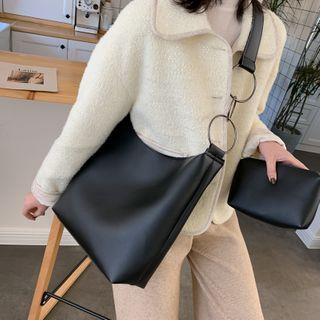 Perlin - Faux Leather Tote Bag