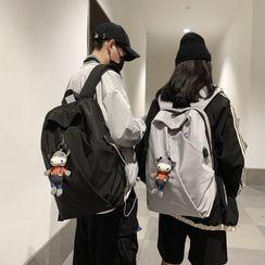 Carryme - Plain Backpack / Bag Charm / Set