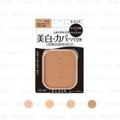 Kose - Elsia White Cover Foundation UV Refill SPF 35 PA+++ 9.3g - 4 Types