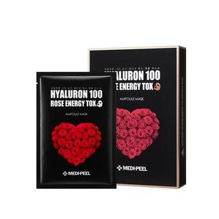 MEDI-PEEL - Hyaluron 100 Rose Energy Tok Ampoule Mask Set 10pcs