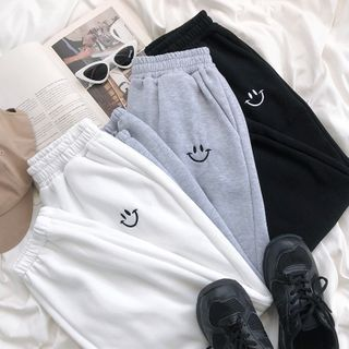 CaraMelody - Embroidered Sweatpants