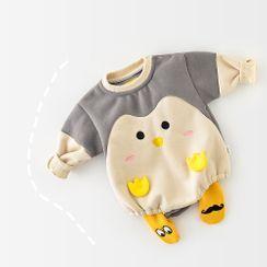 Cen2ury - Baby Long-Sleeve Penguin Bodysuit