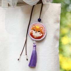 Embroidery Kingdom - Zodiac Amulet DIY Embroidery Kit