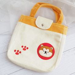 Oz Garden - Embroidered Dog Handbag