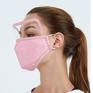 Homy Bazaar - 純棉口罩連護目鏡片