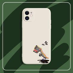 Mirrus - 恐龙印花手机保护套 - iPhone 12, 12 Pro, 12 Pro Max, 12mini, 11, 11 Pro, 11 Pro Max, XS Max, XS, X, XR, 8p/7p, 8/7, 6sp/6p, 6s/6, Huawei Mate 30, Mate 30Pro, P30, P30 Pro, P40, P40 Pro, Nova 7, Nova 7Pro