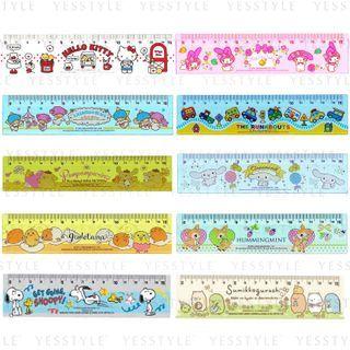 Sanrio - Ruler 15cm - 10 Types