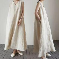 Bellobeam - 無袖直身連衣長裙