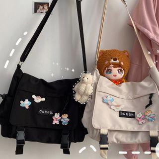 Anchara - Lettering Messenger Bag