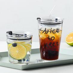 Cutie Pie - Glass Drinking Bottle