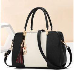 Aquilegia(アクィレジア) - Faux Leather Hand Bag