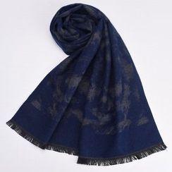 羚羊早安 - 流蘇圍巾