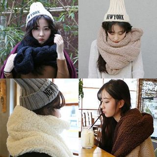FROME - 抓毛厚围巾