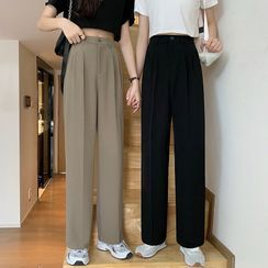 Moon City - Straight-Fit Dress Pants
