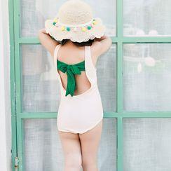 Roseate - Kids Set: Swimsuit + Swim Skirt + Swim Cap