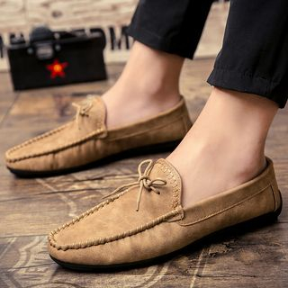 Chaoqi - Bow-Accent Moccasins