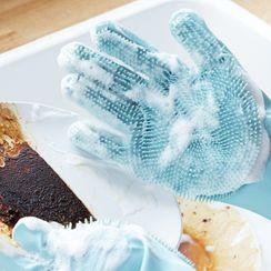 Homy Bazaar - Silicone Kitchen Cleaning Gloves