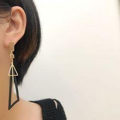 Mimishi - Geometry Earring / Clip-On Earring
