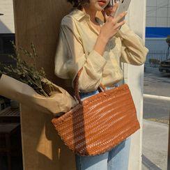 MERONGSHOP - Woven Shopper Bag