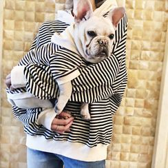 Seven Heaven - Striped Hooded Pet Top