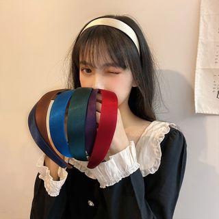 Show Mind - Big Satin Headband