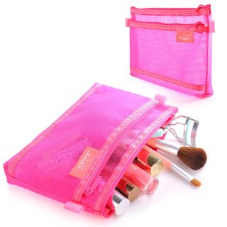 GLeads - Travel Mesh Makeup Pouch