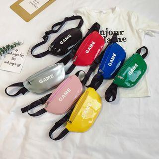 Trendy Spot - Kids Lettering Patent Sling Bag