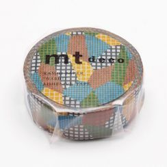 mt - mt Masking Tape : mt 1P Separate Check Dull Tone