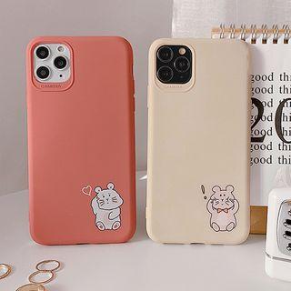 Aion - 卡通老鼠11Pro/Max苹果X/XS/XR适用手机壳iPhone7p/8plus情侣软壳