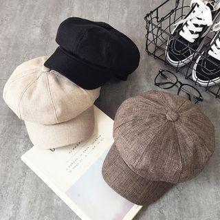 Pompabee - 純色派報童帽