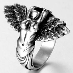 Sigil(シジル) - Stainless Steel Angel Ring