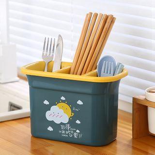 SunShine - 卡通印花餐具瀝水架
