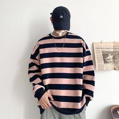 Besto - Striped Sweatshirt