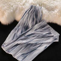 PUYE - Tie-Dyed Loose-Fit Pants