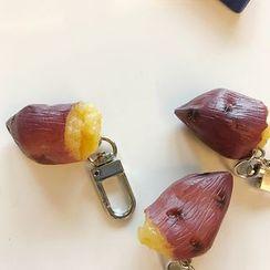 Small Planet - Resin Potato Keyring