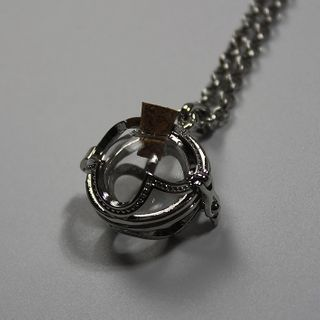 Doll Parlour - Glass Alloy Pendant Necklace