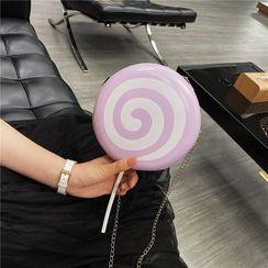 Faneur - Mini Round Lollipop Chain Crossbody Bag