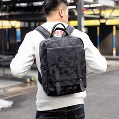 ETONWEAG - Camo Square Lightweight Backpack