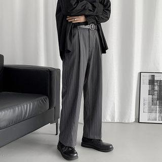 Dukakis - Striped Straight Leg Pants