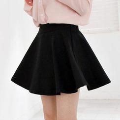 Hyoty - Minifalda con cintura elástica