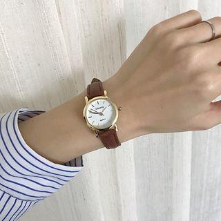 Honey Bee - Round Strap Watch