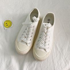 HOGG - Plain Canvas Sneakers