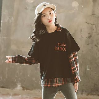 Cuckoo - Kids Mock Two Piece Pullover