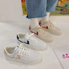 Yuche - 拼接休閒鞋