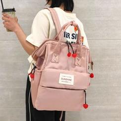MUSA - 貼布繡尼龍背包