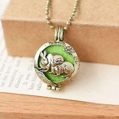 Nisen - Rabbit Aromatherapy Locket Necklace