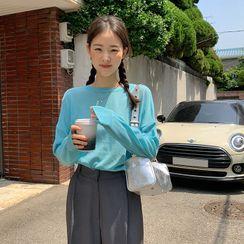 FROMBEGINNING - Linen Blend Summer Sweater
