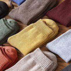 Fliss - Set Of 5 Pairs: Woolen Socks