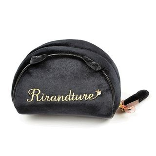UNISON - Lettering Embroidered Makeup Pouch